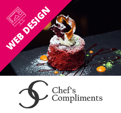 Chef's Compliments Web Design London Case Study Box