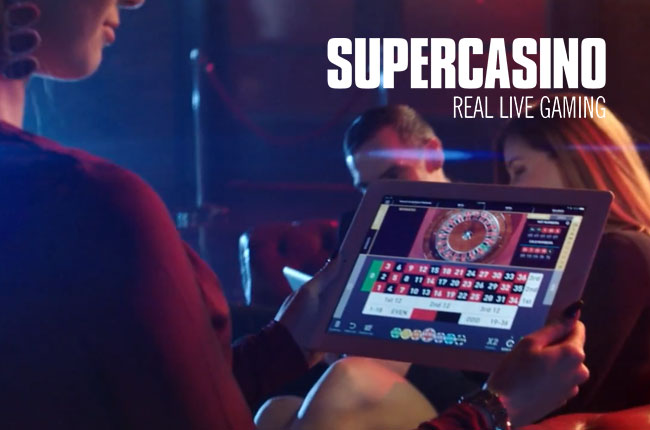 Super Casino Real Live Gaming Campaign by SEO Agency Essex