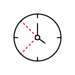 Clock Icon for Emails SEO agency Essex