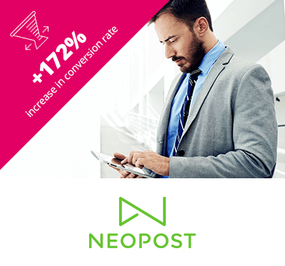 Neopost PPC Agency Essex Case Study Box