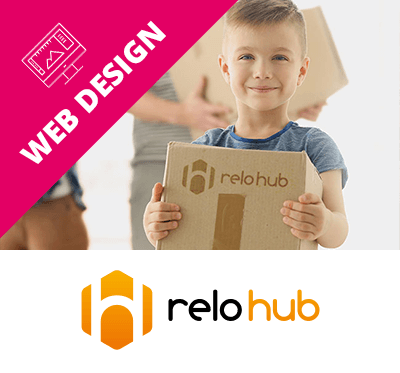 Relohub Web Design Essex Case Study Box