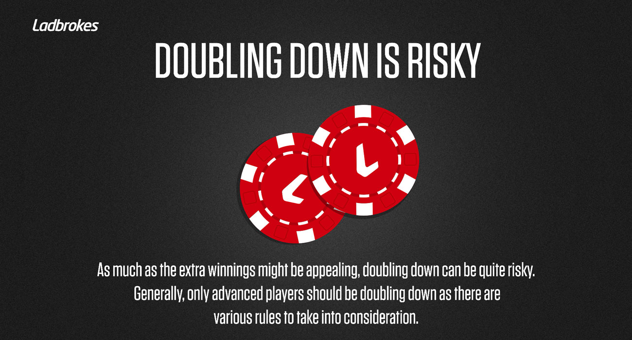 Ladbrokes Doubling Down Warning Web Design Image by Design Company Essex