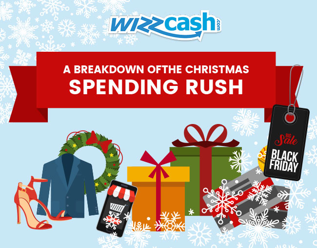 A Breakdown Christmas Spending by Wizzcash SEO Agency Essex