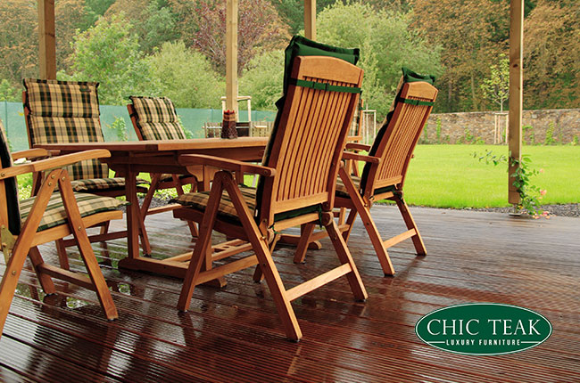 Chic Teak Luxury Furniture Branded Promotional Image by SEO Agency Essex
