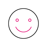 Smiley Face Icon by SEO Agency Essex