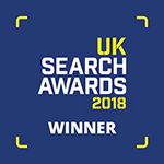 UK Search Awards Winner