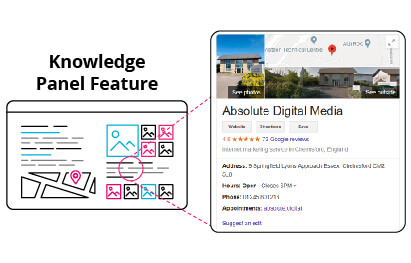 SERP Knowledge Panel Feature