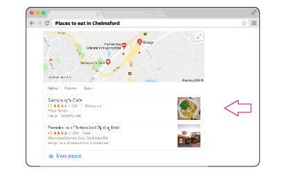SERP Local Pack Feature