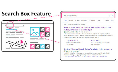 SERPS Search Box Feature