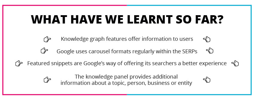 SERPS knowledge