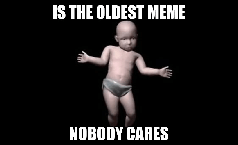What was the first meme used