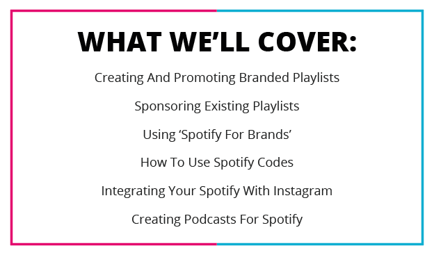 What We'll cover Spotify and Branding