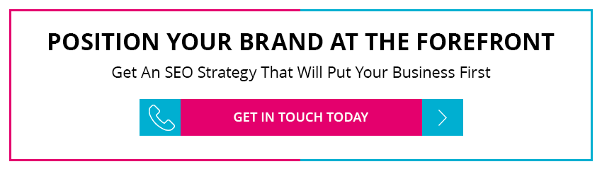 Position your brand at the forefront call to action