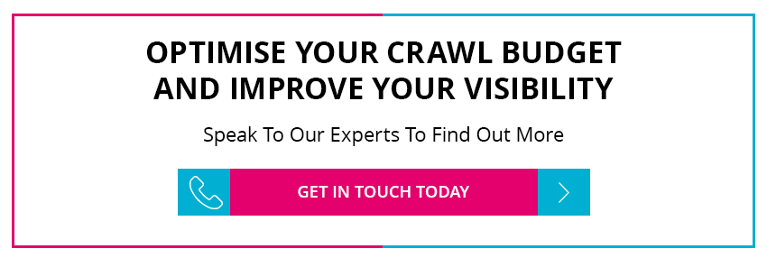 Optimise crawl budget