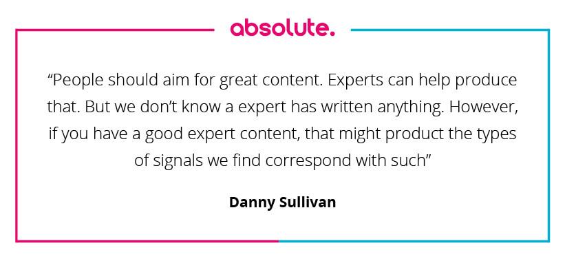 Danny Sullivan quote