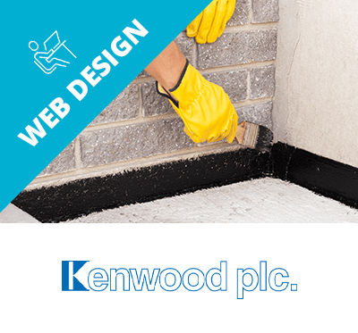 Kenwood web design