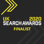 UK Search Awards 2020 finalist