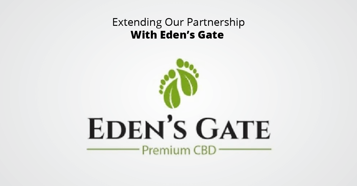 Extending Our Partnership With Eden's Gate