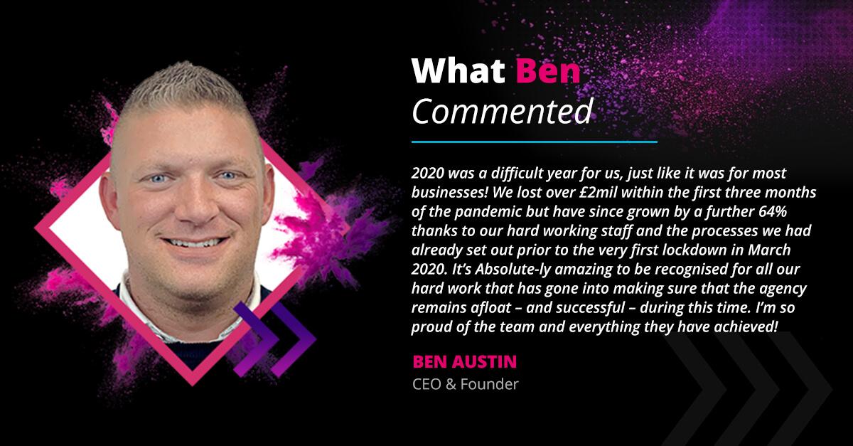 ben austin testimonial company culture awards