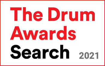 the drum search awards 2021 logo