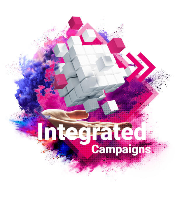 Integrated Campaigns infographic