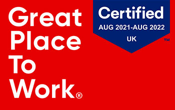 Absolute Digital Media's great place to work certificate
